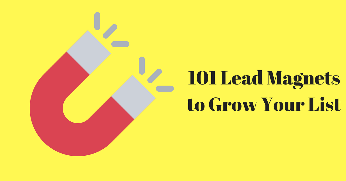 101 Highly Effective Lead Magnet Ideas to Grow Your List in