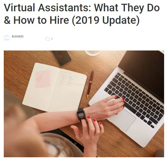 Content Development Case Study Virtual Assistants