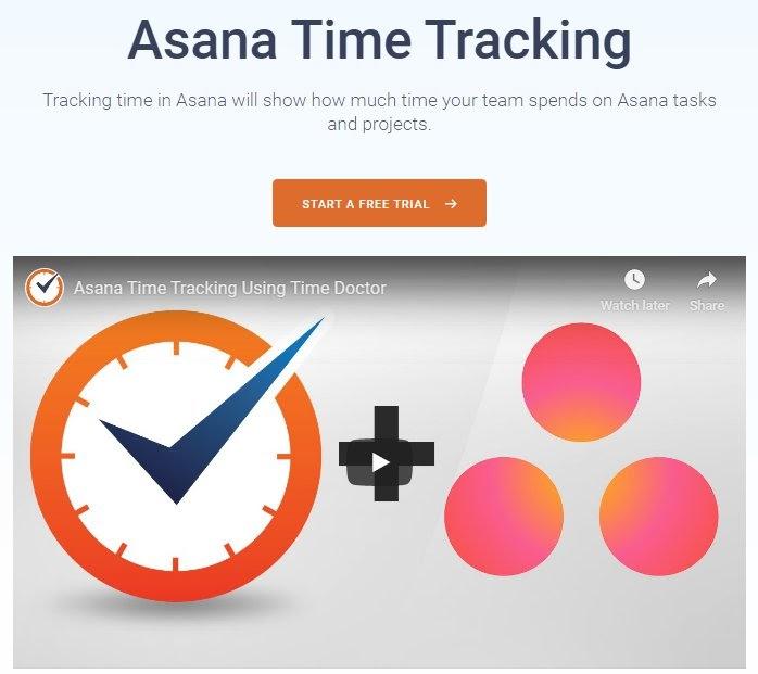Asana Integration Page