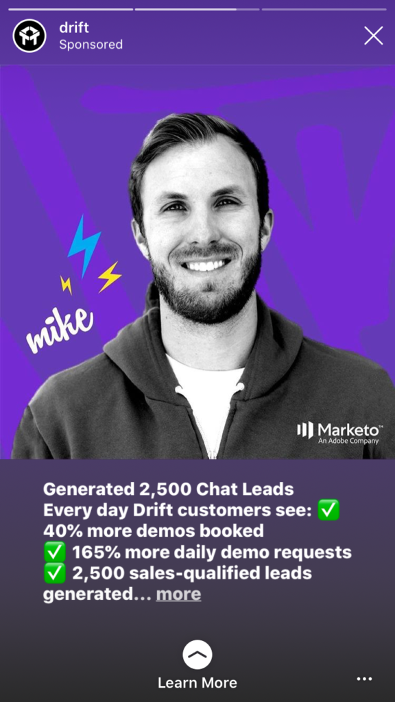 ads with customers