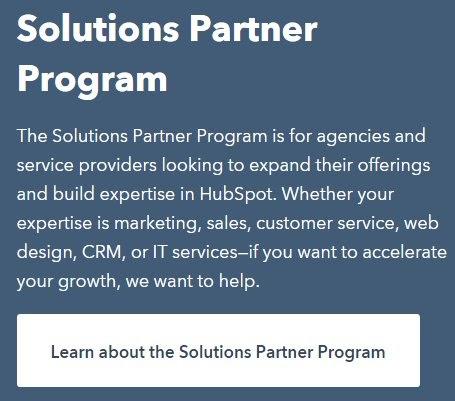 hubspot partner program