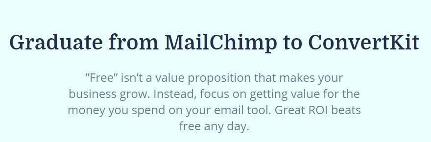 mailchimp migration page