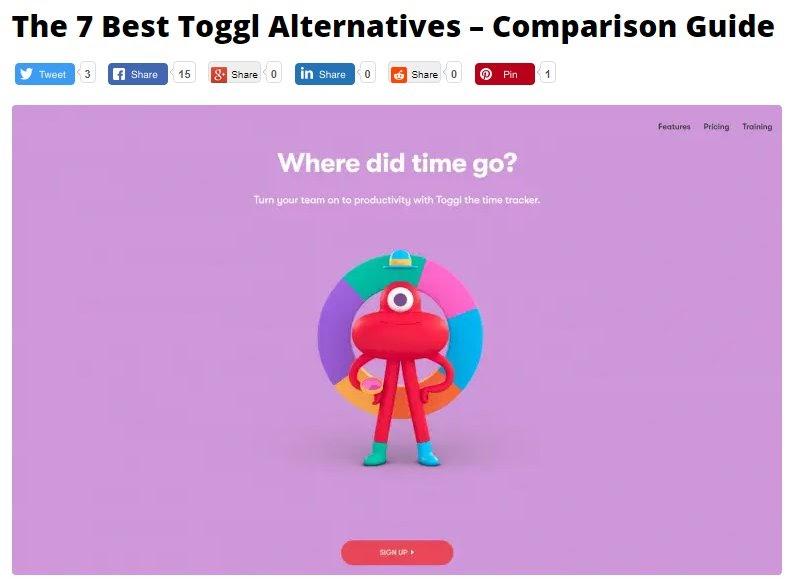 toggl alternatives comparison guide