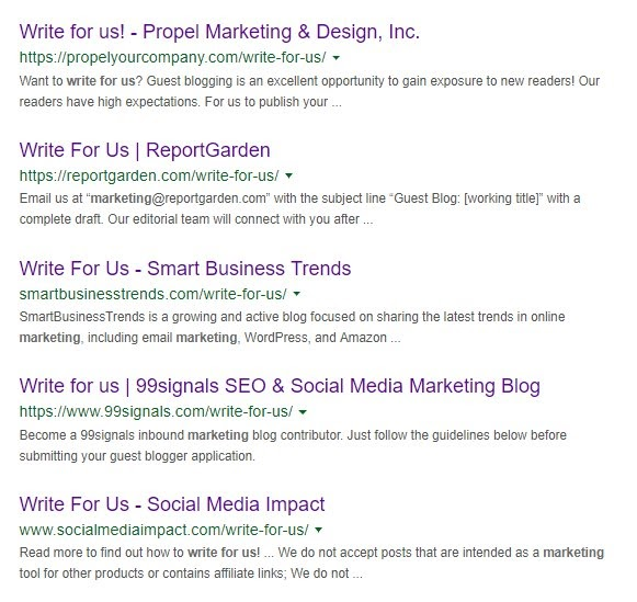 guest-blogging-serp-results